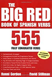 The Big Red Book of Spanish Verbs: 555 Fully Conjugated Verbs (Big Book of Verbs Series)
