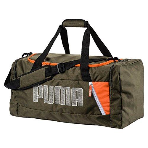 Puma Fundamentals Sports Bag M II Tasche, Forest Night, OSFA