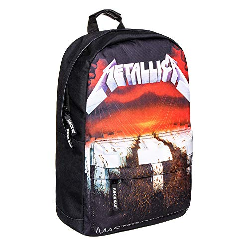 Metallica Rock Sax Master Of Puppets Backpack