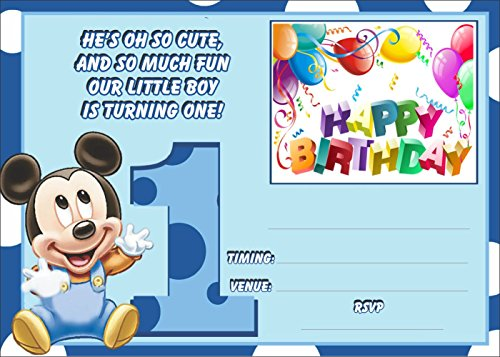 Birthday Invitation Card on Metallic Sheet (Pack of 50 Cards) NIC-007