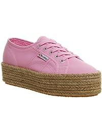 Superga Damen Acotw Linea Up and Down Sneaker, Schwarz, Various
