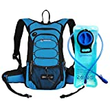 Miracol Hydration Backpack with 2 Litre Water Bladder, Thermal Insulation Pack Keeps Liquid Cool up to 4 Hours, Multiple Storage Compartment, Best Outdoor Gear for Skiing, Running, Hiking, Cycling
