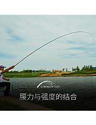 ZHUDJ Caña De Pescar Ultraligero 28 Superhard Varilla De Carbono 5,4 M Polo Pesca Carp Fishing Rod Establecida,Atún 3,9 Metros