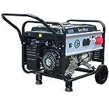 DeTec. - Benzin Stromerzeuger Notstrom Aggregat Stromgenerator 5,5 KW mit Starkstrom 230V + 400V …