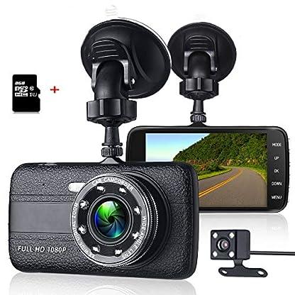 ZIHENGUO-40Auto-Dvr-Kamera-Full-HD-1080P-Dash-Cam-Auto-Registrator-Dual-Lens-Nachtsicht-mit-Rckansicht-Videorecorder-inklusive-TF-Karte