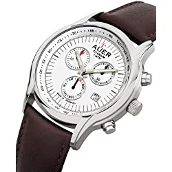 Urs Auer ZU-411 Titanium Chrono Chronograph for Him Made in Germany
