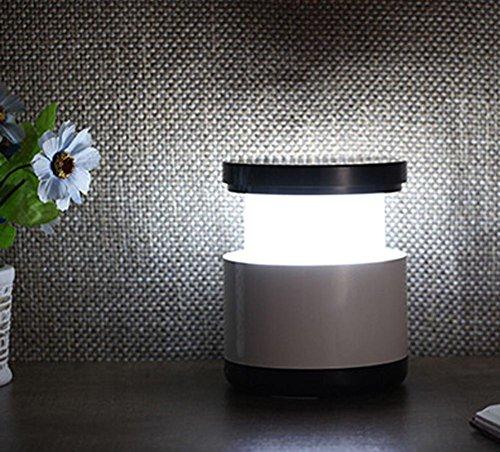 Lumière de nuit télescopique Lampe de table à LED extensible créative Lampe de chevet USB Lampe de table Éclairage extérieur Lumière de nuit pour enfants , Black