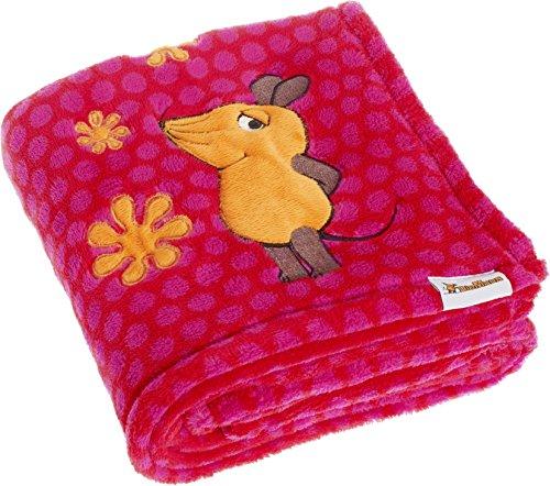 Playshoes 301732.0 Die Maus Fleecedecke, rosa