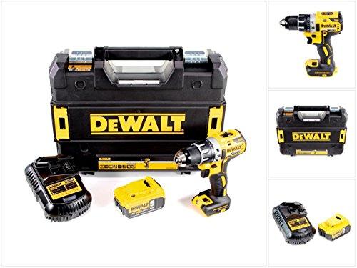 DeWalt DCD 791 P1 Akku Bohrschrauber Brushless 18V 70Nm + 1x Akku 5,0 Ah + 1x Ladegerät in TSTAK