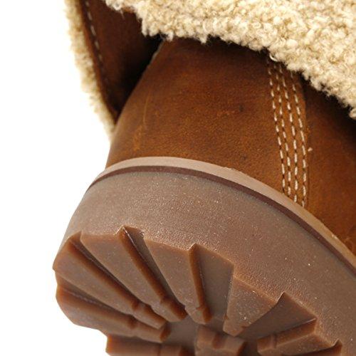 Timberland 1690un Junior en cuir nubuck Bottes Marron