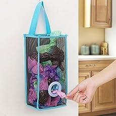 J GO Net Plastic Bag Holder, 29x11x15cm (Multicolour)