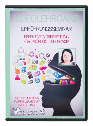 Der HPP-Express - Fluffig Lernen mit Sybille Disse (DVD Lehrgang und Videokurs für die Ausbildung zum Heilpraktiker Psychotherapie & Psychologischer Berater - Einführungsseminar) + 30 € Gutschein