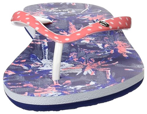 Roxy - Portofino, Infradito Donna Blu (White/pink/blue)