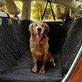 Housse de coffre de voiture pour chien - Protection de coffre pour véhicule résistant à l'eau, antidérapant, anti-salissure et capillaire - Housse de chien solide avec protection latérale 132 x 45 x 5