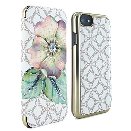 748157539 Official TED BAKER® SS17 Fashion Branded Mirror Folio Case for iPhone 6S  and iPhone 6
