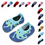 "Laiwodun kids water shoes are more soft and comfortable to fit kid's ""little chubby"" feet. It better to protect and relax kids 'feet when dong any activities, special when doing water sports. These Aqua Socks are designed with cute cartoon pattern..."