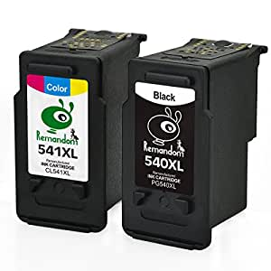 remandom for canon pg 540xl cl 541xl remanufactured ink cartridges for canon pixma mg3650 mg4250. Black Bedroom Furniture Sets. Home Design Ideas