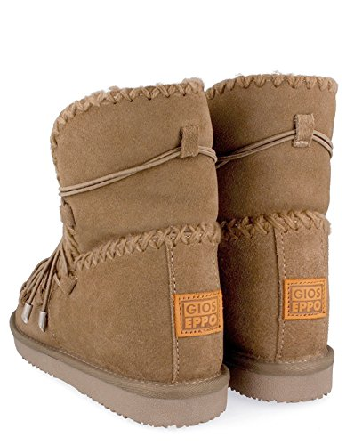 Gioseppo Taupe Eskimo Boot With Laces by Cream