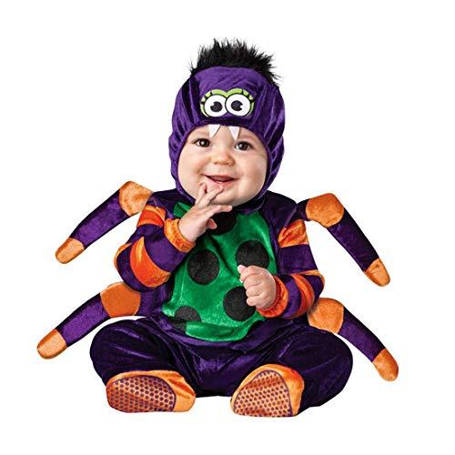 Spinne Monat 18 Kostüm - NormCorer - Cute Kleinkinder Baby Kostüm - Halloween Kleinkind Faux Tier verkleiden Sich mit Hut und Schuhe für Cosplay (12-18 Monate, Spinne)