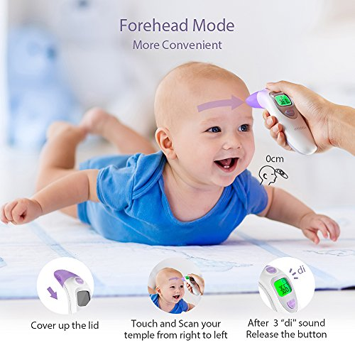 Hylogy 4 in 1 Fieberthermometer - 4