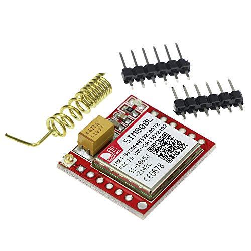 Eastern Computers - Micro SIM800L GPRS GSM MicroSIM SIM Card Core Wireless  Mobile Networks Phone Board Quad-Band TTL Serial Port DIY Module with