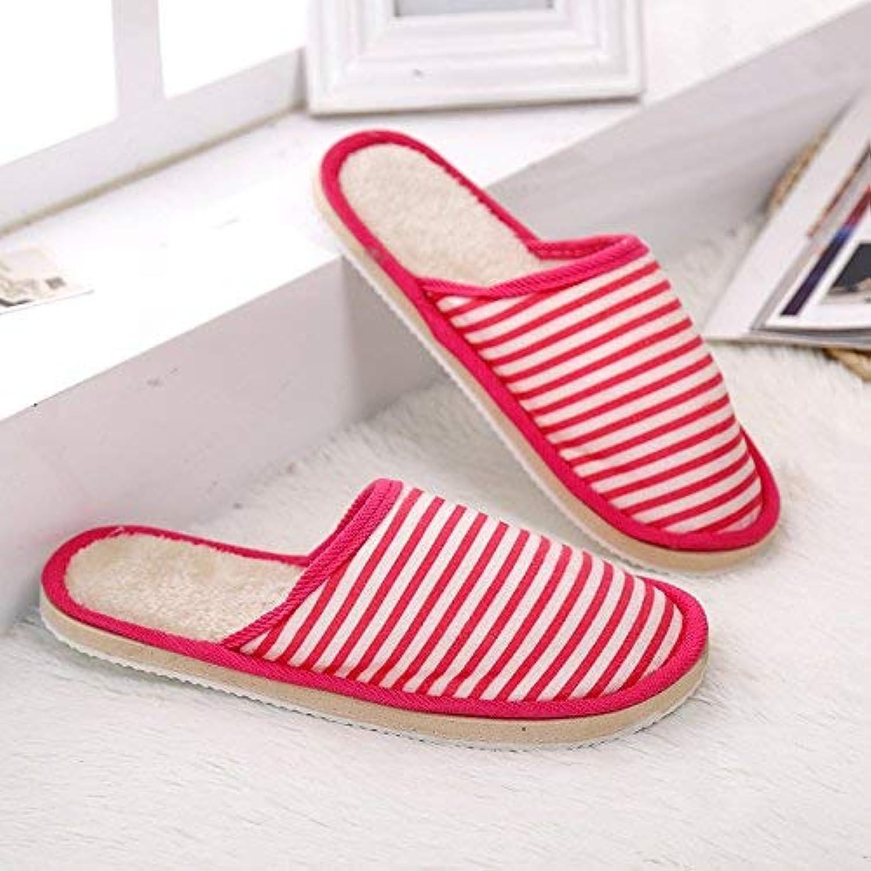 Upstudio Home Coppia Pantofole in Cotone Coloreee Giapponese Giapponese Giapponese e Coreano Strisce Autunnali e Inverno Cotone Antiscivolo... | Vendite Online  a0ef7e