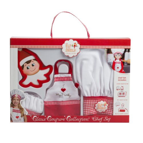 Zeit-couture-kollektion (Elf Claus Couture Kollektion Chef Schürze Set)