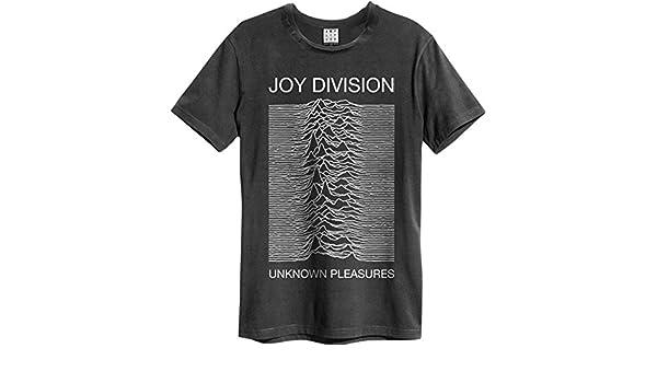 Amplified Herren Joy Division-Unknown Pleasures T-Shirt