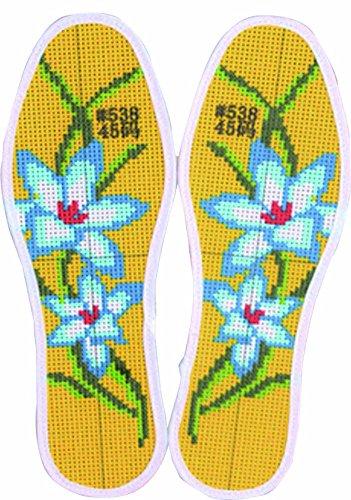 Semelles de point de croix Semelles de bricolage Semelles de broderie en coton