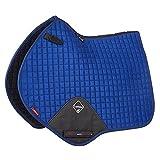 LeMieux Unisex Prosport Lustre Close Contact Square (D-Ring) Saddle Cloth, Benetton Blue, Large