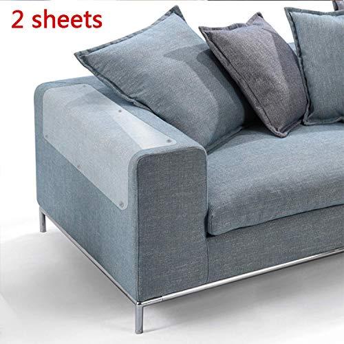 ZKK 2PCS Kratzschutz for Katze Hund,Haustier Couch Schutz Stoppen Sie Katzen die Möbel kratzen -