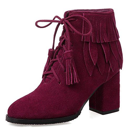 Nine SevenAnkle Boots - Stivali donna Burgundy