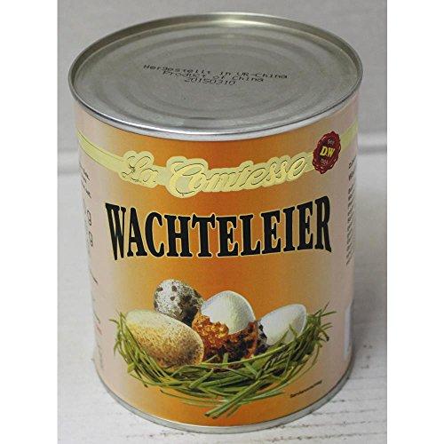 La Comtesse Wachteleier 50-60 Stck. (850ml Dose)