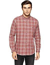 LP Louis Philippe Men's Solid Slim Fit Casual Shirt