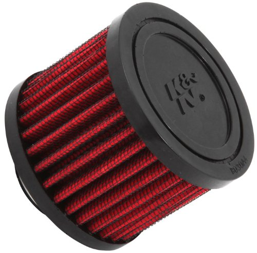 K & N 62-1410 Vent Air Filter/Entlüfter 2,5 cm Vent 7,6 cm Dia 2-3/8 H Gummi Top (Universal Air Filter) -
