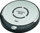 CTC cdp7001lettore CD portatile con cuffie in ear e display LCD nero