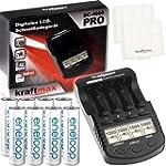 Kraftmax BC-4000 Pro Ladegerät und 8x...
