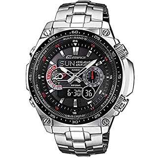 Casio Men's Analogue/Digital Quartz Watch with Stainless Steel Bracelet ECW-M300EDB-1AER (B0039YOH8K) | Amazon price tracker / tracking, Amazon price history charts, Amazon price watches, Amazon price drop alerts
