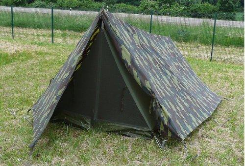 Fallschirmjäger Tarn (Belgisches Fallschirmjäger Commandozelt tarn gebraucht 330 x 200 x 140)