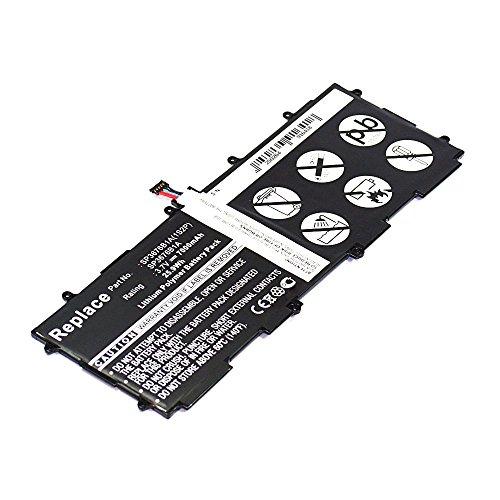 subtel Qualitäts Akku für Samsung Galaxy Note 10.1 GT-N8000 GT-N8010 GT-N8020 GT-P5100 Galaxy Tab 2 10.1 GT-P5110 GT-P7500 Galaxy Tab 10.1 GT-P7501 10.1N GT-P7510 10.1 GT-P7511 10.1N (7000mAh) SP3676B1A GH43-03562 Ersatzakku Batterie