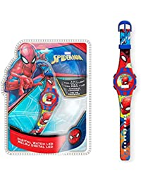 Spiderman 1 Reloj de Pulsera Digital luz New Packaging 3 (MV15495), Multicolor (Kids Licensing