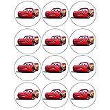The Cars Cupcake, Muffin Aufleger