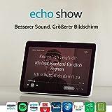 Das neue Echo Show (2. Gen.), Weiß + Philips Hue Lampe - 2