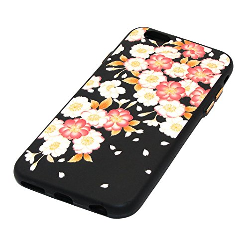 """Coque iPhone 6 Plus Silicone Housse, Rosa Schleife® 5.5"""" Apple iPhone 6S Plus TPU Silicone Gel Case Cover Ultra Mince Coque Etui de protection Back Cover 3-style"""