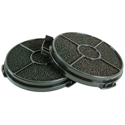 cuisinière four hotte filtre à charbon rond pour B & Q Cata Designair Cooke & Lewis (lot de 2)