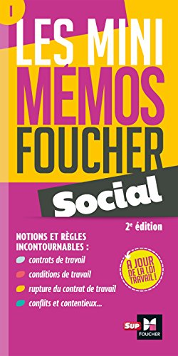 Les mini memos Foucher - Social - 2e édition - Révision par Françoise Rouaix