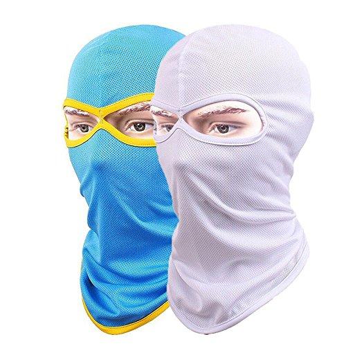 Tessuti in lycra maschera passamontagna maschera ad asciugatura rapida, traspirante equitazione maschere di protezione solare (pezzi)