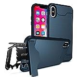 iPhone X Robust Schutzhülle - Olixar X-Ranger - mit Multi-tool - Blau