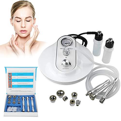 3 IN 1 Diamant Microdermabrasion Dermabrasion Maschine Hautverjüngung Anti-Falten Sommersprossen Entfernung Exfoliator Schönheit Maschine, Geeignet für Haus und Salon verwenden (EU) -