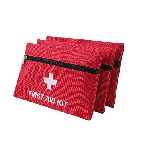 Dosige Verbandtasche Rot, DIN 13164, mit Malteser Erste-Hilfe-Sofortmaßnahmen